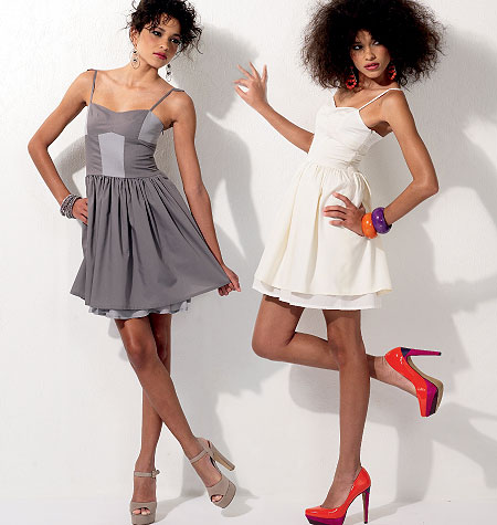 McCall's Misses'/Miss Petite Dresses. Make by Diana Rupp 6561