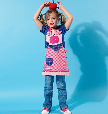 McCall's Children's Aprons by Cotton Ginnys 6576