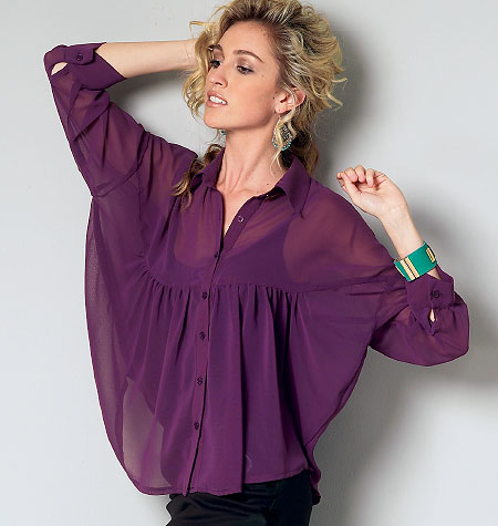 McCall's Misses'/Women's Tops and Tunic 6605