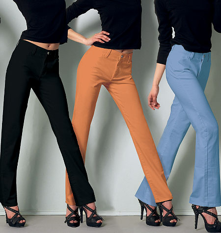 McCall's Misses'/Miss Petite Jeans 6610