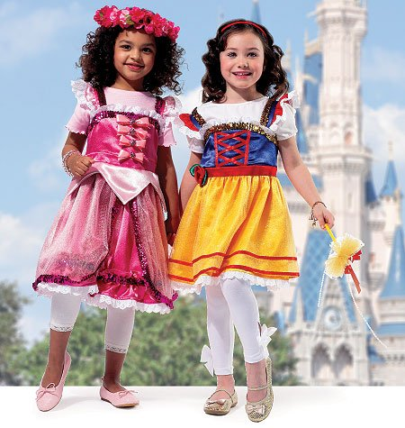 McCall's Children's Aprons, Headpiece and Wand 6619