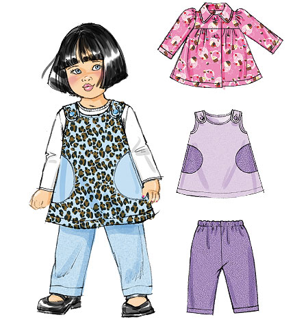 McCall's Infants' Jacket, Jumper and Pants 6631
