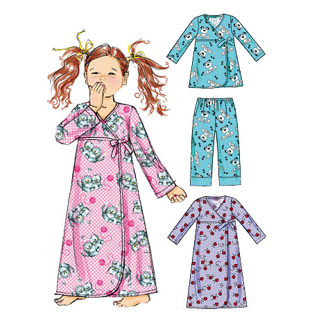 McCall's Children's Top, Gown and Pants 6633
