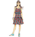 McCalls 6676 Pattern ( Size 7-8-10-12-14 )