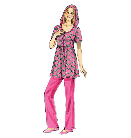 McCall's Misses' Top, Shorts and Pants 6681