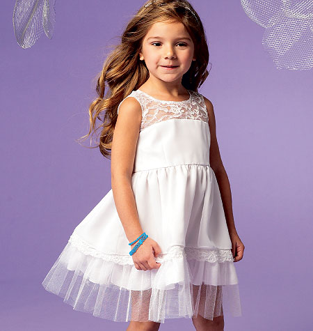 McCall's Girls/Girls' Dresses 6685
