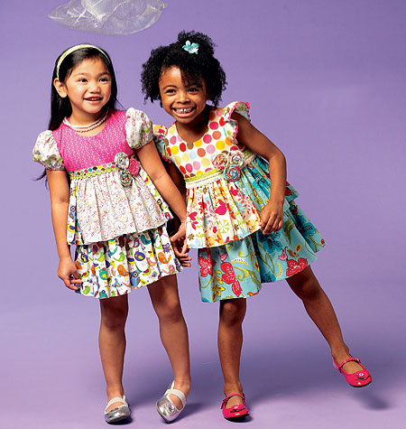 McCall's Girls' Tops and Skirt 6688