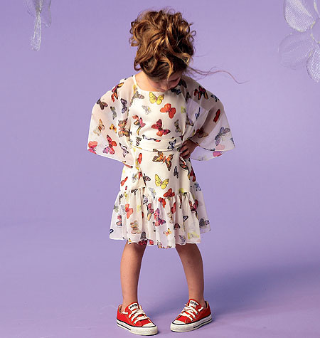 McCall's Girls' Tops, Dresses and Belt 6690