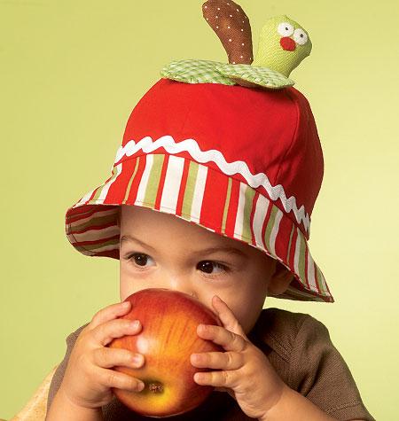 McCall's Infants' Hats 6714