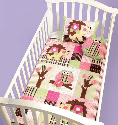 McCall's Pillows and Quilt for Baby 6721