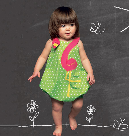 McCall's Infants' Rompers 6726