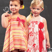 McCalls 6728 Pattern ( Size 1-2-3-4 )