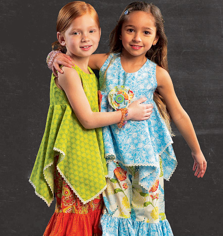 McCall's Children's/Girls' Top and Pants 6732