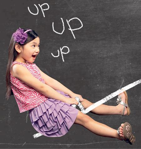 McCall's Children's/Girls Tops, Dress, Skirt and Shorts 6734