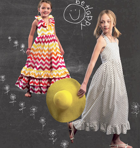 McCall's Children's/Girls' Dresses 6736