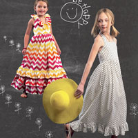McCalls 6736 Pattern ( Size 3-4-5-6 )
