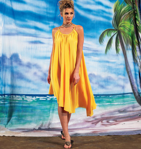 McCall's Misses' Dresses and Belt 6743