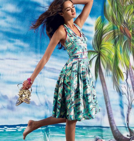 McCall's Misses' Dresses 6745
