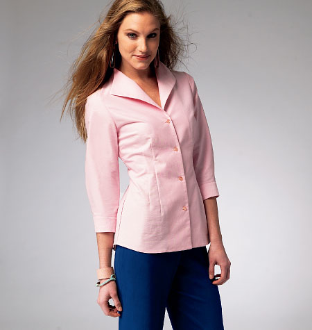 McCall's Misses' Shirts 6750