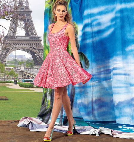 McCall's Misses' Tops and Dresses 6754