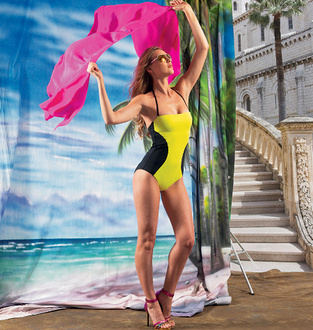 McCall's Misses' Swimsuits and Cover-Up 6759