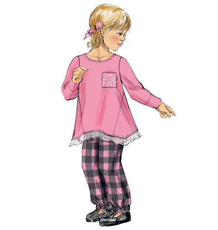 McCall's Children's Tops and Pants 6771