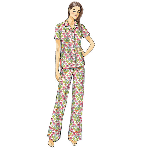 McCall's Misses' Tops, Shorts and Pants 6775