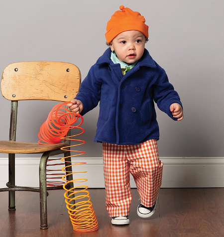 McCall's Infants' Jacket, Shirts, Shorts, Pants, Hat and Bow Tie 6779