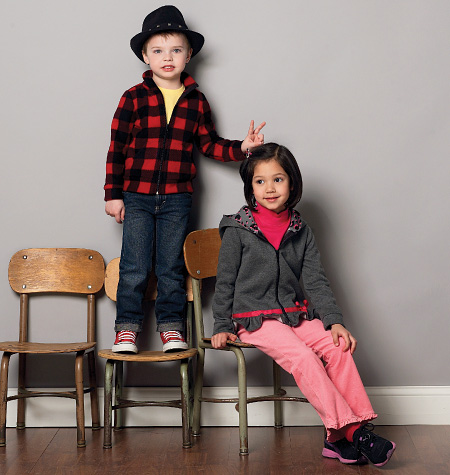 McCall's Children's/Boys'/Girls' Tops and Jackets 6782