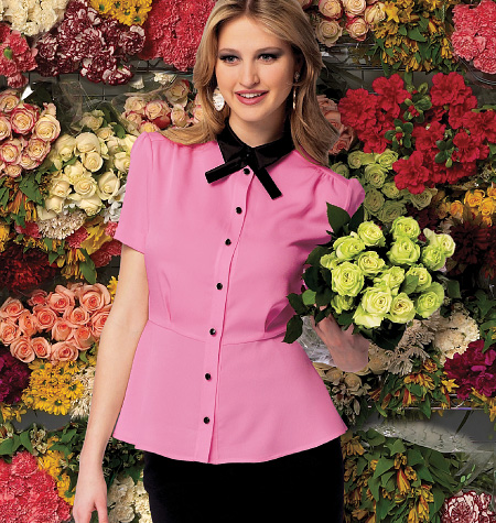 McCall's Misses'/Miss Petite Tops 6795