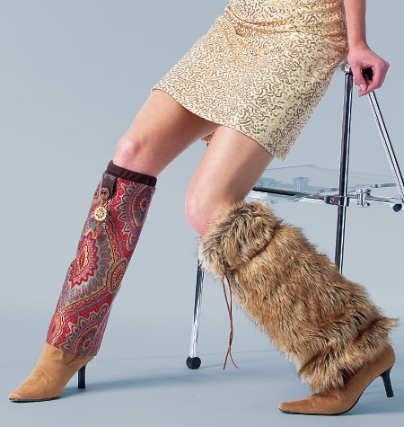 McCall's Boot Wraps 6809