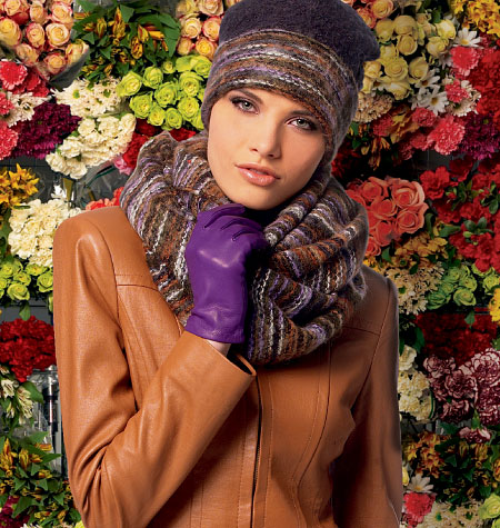 McCall's Misses'/Men's Hat, Gloves and Scarf 6810