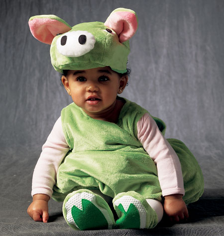 McCall's Toddlers' Costumes 6812