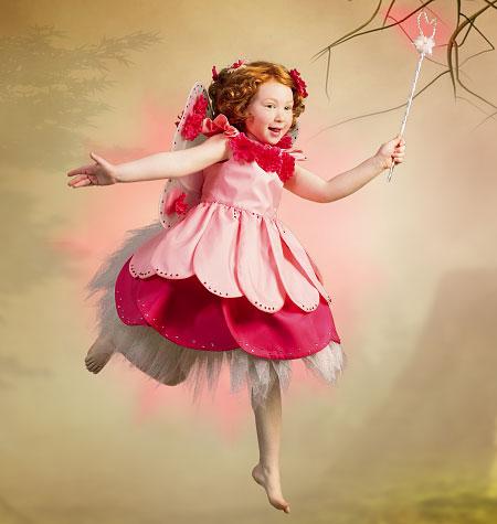 McCall's Children's/Girls' Fairy Costumes 6813