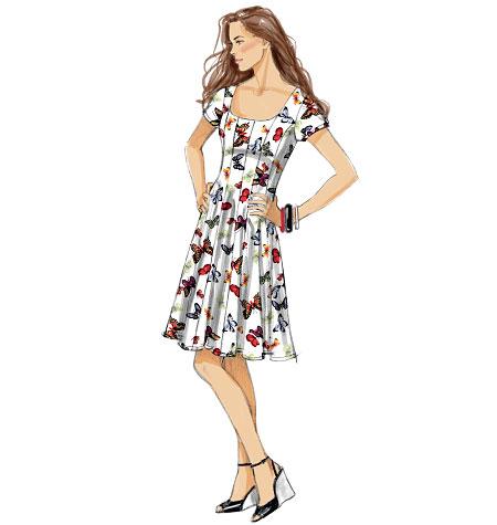 McCall's Misses' Dresses 6821