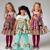 McCalls 6826 Pattern ( Size 6-7-8 )