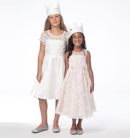 McCall's Children's/Girls' Dresses 6829
