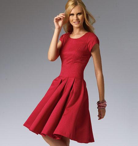 McCall's Misses'/Miss Petite Dresses 6834