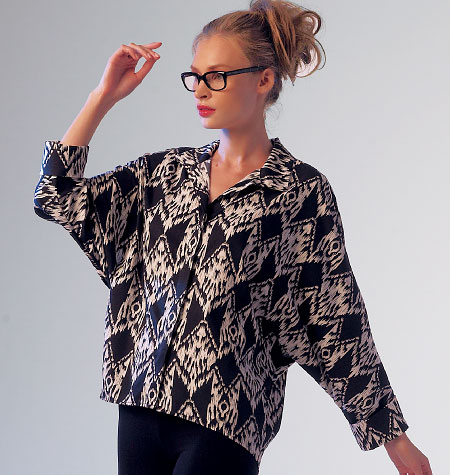 McCall's Misses' Blouses 6840