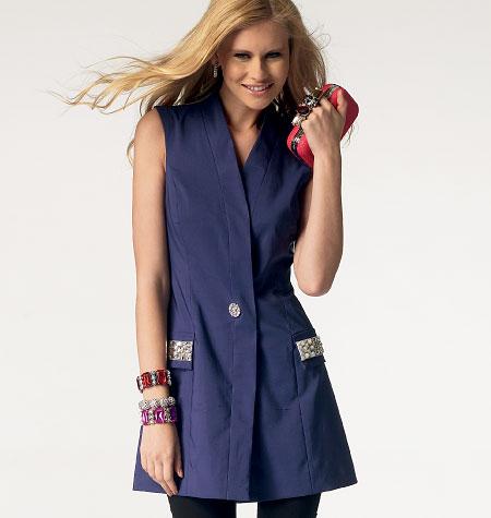 McCall's Misses'/Women's Vest 6847