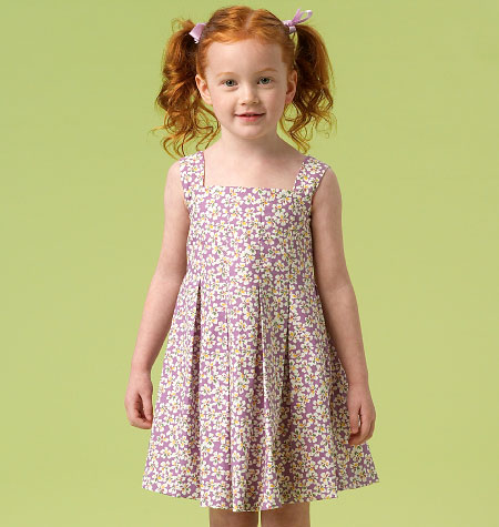 McCall's Children's/Girls' Dresses 6878