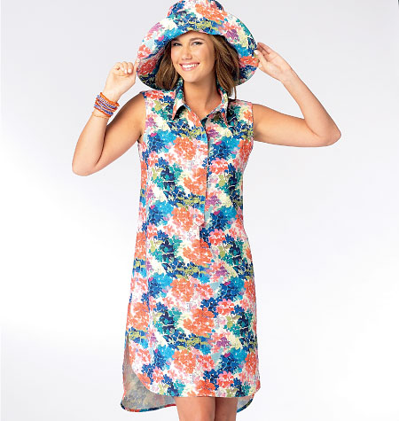 McCall's Misses' Dresses and Hat 6885