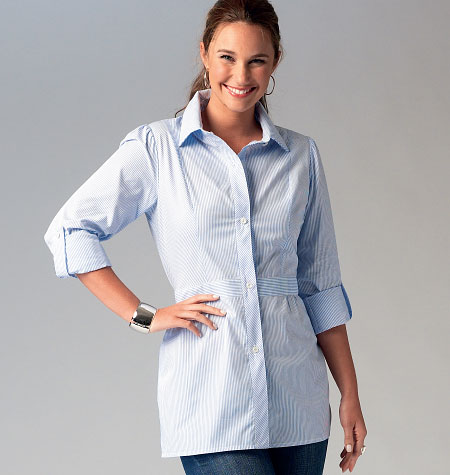 McCall's Misses' Shirts 6898