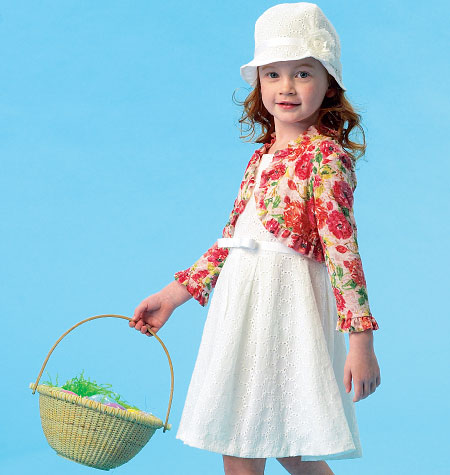 McCall's Children's/Girls' Jacket, Top, Dress, Skirt and Hat 6914