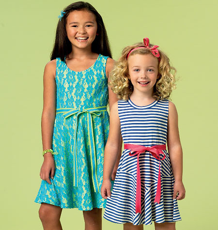 McCall's Chidren's/Girls' Dresses 6915