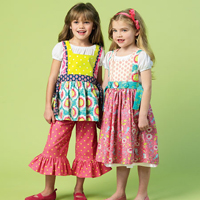 McCalls 6916 Pattern ( Size 2-3-4-5 )