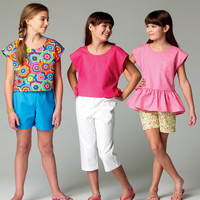 McCalls 6917 Pattern ( Size 3-4-5-6 )