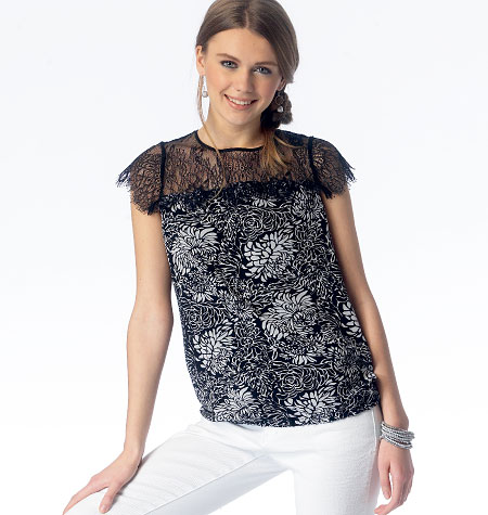 McCall's Misses' Tops 6926