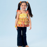 McCalls 6946 Pattern ( Size 6-7-8 )