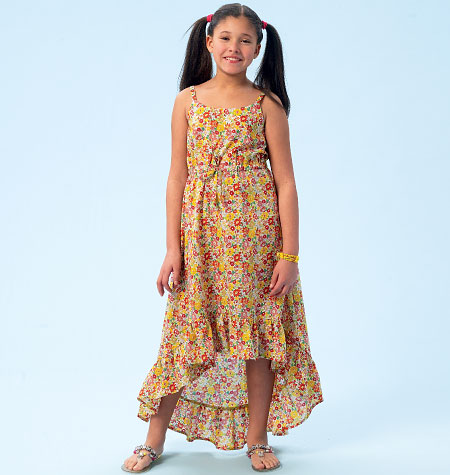 McCall's Children's/Girls' Dresses 6948
